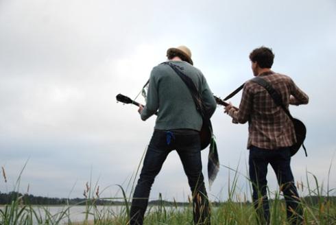 banjo & guitar